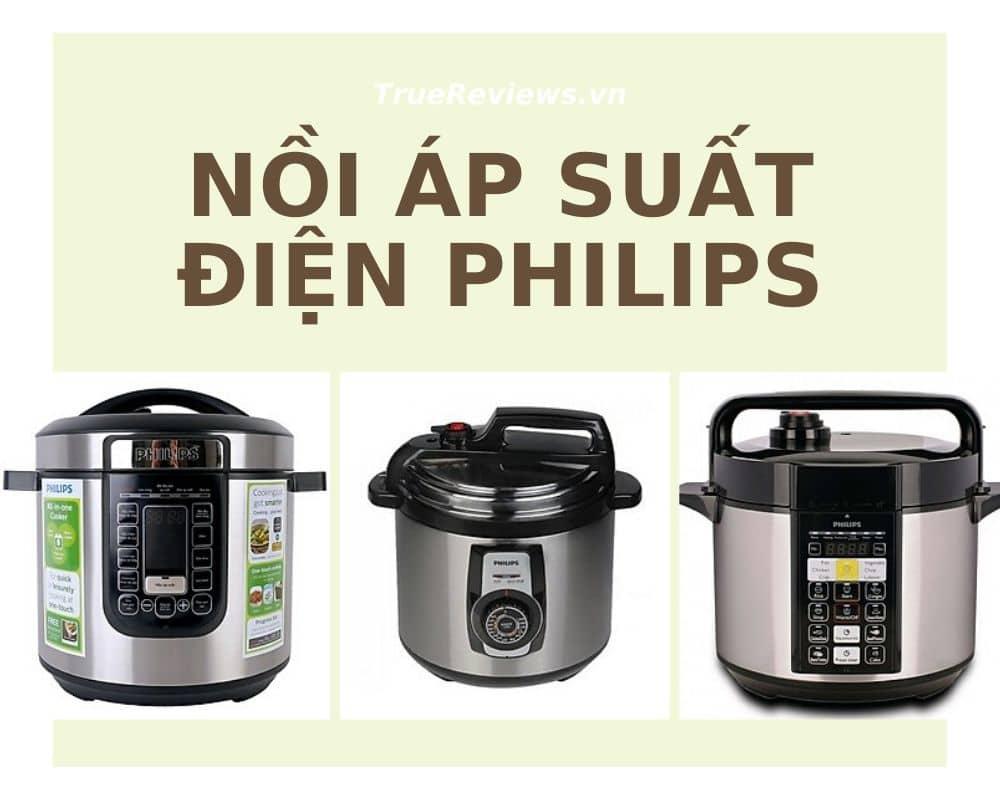 Nồi áp suất điện hãng Philips